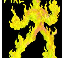 fire elemental... by kangarookid