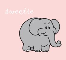 sweetie elephant Kids Clothes