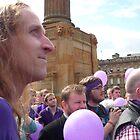 Demo for Democracy: Glasgow by Yonmei