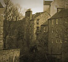 Dean Village, Edinburgh by Andy Duffus