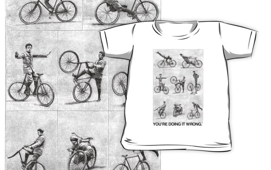 FIXIE   You're Doing It Wrong by TweetTees