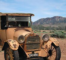 Vintage Dodge & Flinders Ranges, South Australia (Y) by Adrian Paul