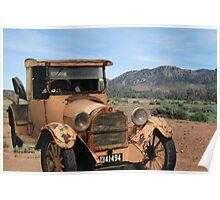 Vintage Dodge & Flinders Ranges, South Australia (Y) Poster