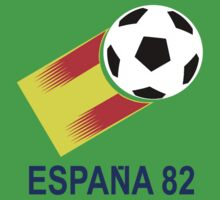 A Casual Classic iconic Espana 82 inspired t-shirt design  Kids Clothes