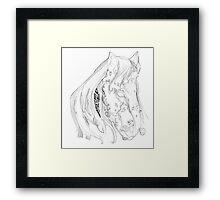 planet horse Framed Print