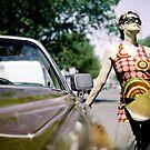 Cadillac girl by Etienne RUGGERI Artwork eRAW