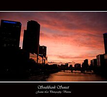 Sunset at Southbank by jlphoto