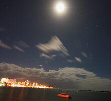 Caloundra At Night by Shane Galvin