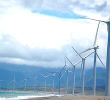 Windmill Wonders in Bangui, Ilocos Norte, Philippines by walterericsy