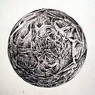 Mandala  by Peter Baglia