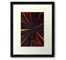 Forest Constellation Framed Print