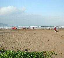 pangandaran beach by bayu harsa