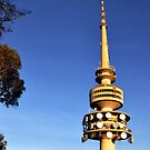 Telstra Tower, Black Mountain Canberra by lu138