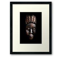 The Mask Framed Print