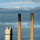 Smokestacks Five by Lynn Wiles