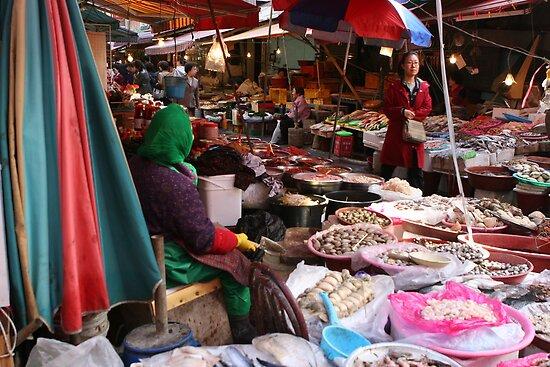 Korean Marketplace  by Morgan Wade
