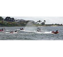 Racing at Penguin (40) Photographic Print