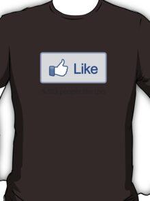 """Like Button """"Popular"""" T-Shirt T-Shirt"""