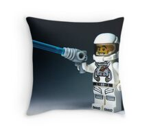 Look at the size of my 'laser' Throw Pillow
