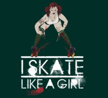 Atomic Blast - Skate like a Girl by trossi