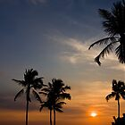 Indian Ocean Sunset- Colombo by morealtitude