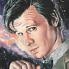 Doctor Who: Matt Smith by marksatchwillart