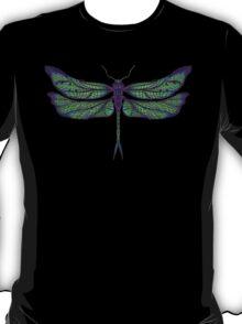 Dragonfly - Dark Colours T-Shirt