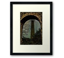 Over Mine Framed Print