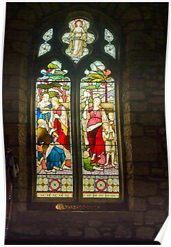 Window #1 - St Oswald&#x27;s Church - Arncliffe by Trevor Kersley