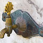faucet outside a mosque- Istanbul by David Chesluk