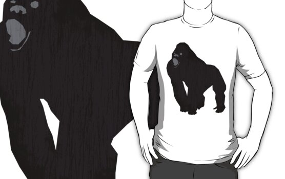 Black Gorilla - Primate For Life by Spencer Tymchak