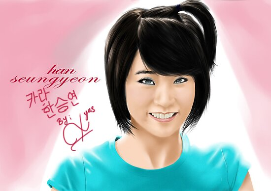 kara han seungyeon by blastfaizu2