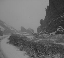 Red Rocks Park in Winter by Brian Rivera