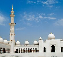 Sheikh Zayed Mosque by mohsensa