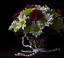 bouquet in a cup by cherylc1