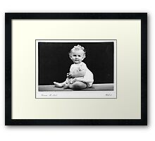 Yes its true! I'm still Gorgeous! Framed Print