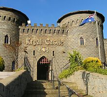 Kryal Castle - Ballarat (Entrance) by adgray