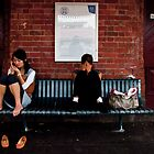 Clifton Hill Station:a Station of the Cross. by Chris Callaghan