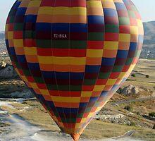 Ballooning in Cappadocia by Lyn Fabian