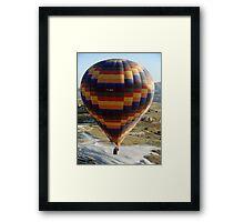 Ballooning in Cappadocia Framed Print
