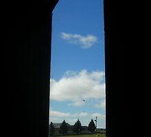 Kryal Castle - Ballarat (Through the Tower Window) by adgray