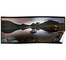Dove Lake Dawn Pan Poster