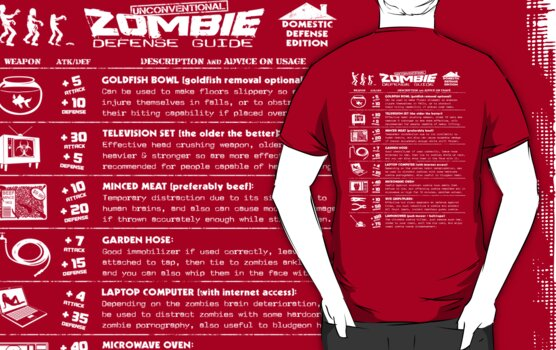Zombie Defense Guide -white- by R-evolution GFX