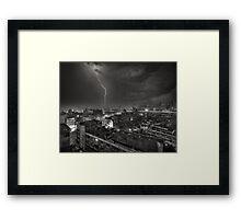 Storm over Bangkok Framed Print