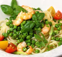 Spaghetti, Peas and Frutti di Mare by SmoothBreeze7