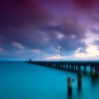 Dusk at Mordialloc Pier by Jason Green