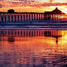 Pacific Sunset California by paintingsheep