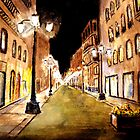 Calle Alphonso by John Moore
