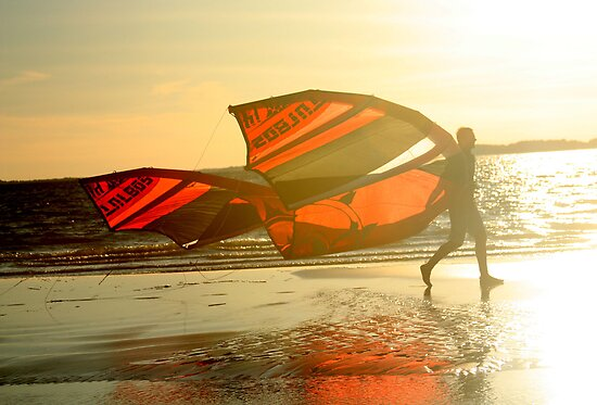 Wind surfer by photobynumbers