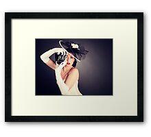 Boudoir with a Welta Framed Print